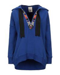 Sweat-shirt Jijil en coloris Blue