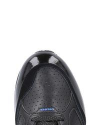DIESEL Black Low-tops & Sneakers for men