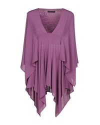 Plein Sud - Purple Blouse - Lyst
