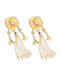 Ben-Amun - Metallic Earrings - Lyst