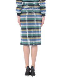 Tommy Hilfiger Blue 3/4 Length Skirt