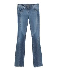 Ermanno Scervino Blue Denim Pants