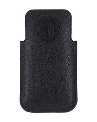 Trussardi Black Covers & Cases for men