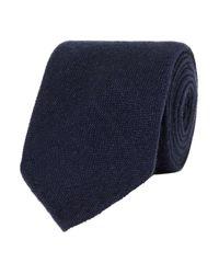 Cravatta di Drake's in Blue da Uomo