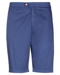 Panama Blue Bermuda Shorts for men