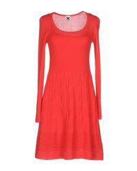M Missoni Red Short Dress