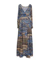 Manila Grace Natural Long Dress