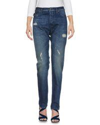Pantalones vaqueros Love Moschino de color Blue