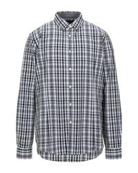 Camicia di Calvin Klein in Gray da Uomo