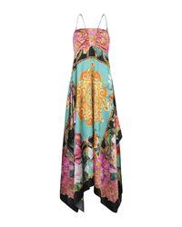 Robe longue Clips en coloris Multicolor