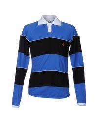 Telfar Blue Polo Shirt for men