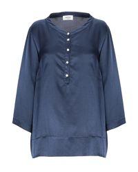 Ottod'Ame Blue Bluse