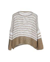 Cappellini By Peserico White Sweater
