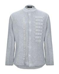 Camicia di Tom Rebl in Gray da Uomo