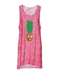 Leitmotiv Purple Short Dress