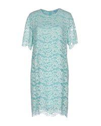 Blumarine Blue Short Dress