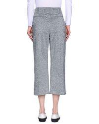 Edun Gray Casual Trouser