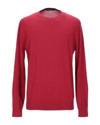 Pullover Roberto Collina pour homme en coloris Red