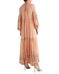 Vestido largo Ulla Johnson de color Multicolor