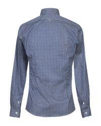 Camisa Alea de hombre de color Blue