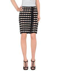 Sharon Wauchob - Black Knee Length Skirt - Lyst
