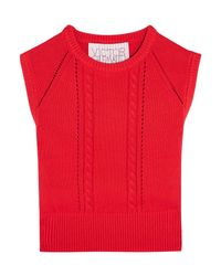 Pullover di Victor Glemaud in Red