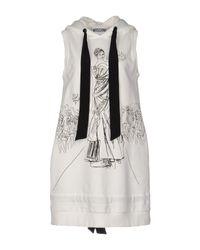 Vestito corto di Moschino in White