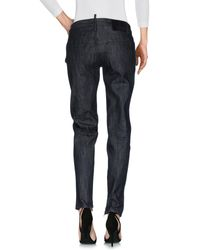 DSquared² Black Denim Pants