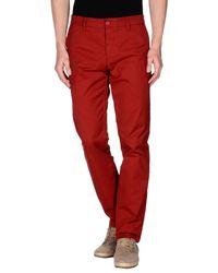 Pantalon Carhartt pour homme en coloris Red