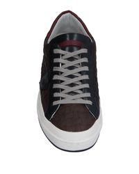 Philippe Model Brown Low-tops & Sneakers for men