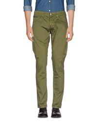 Pantalone di Dondup in Green da Uomo