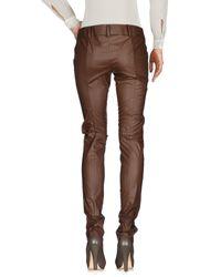 Pantalon Patrizia Pepe en coloris Brown