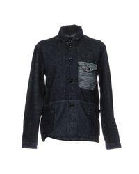 Pepe Jeans Blue Jacket for men