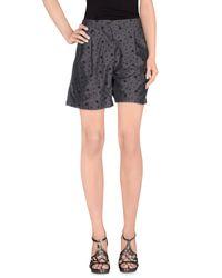 Soho De Luxe | Gray Bermuda Shorts | Lyst
