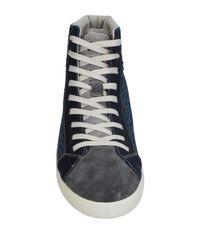 Springa Blue High-tops & Sneakers for men