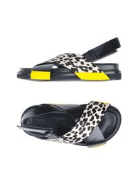 Antonio Marras Black Sandals