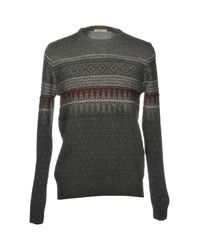 Ltb Gray Sweater for men