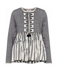 Blusa Lemlem de color Gray