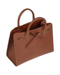 Borsa a mano di Mansur Gavriel in Brown
