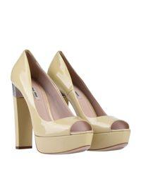 Zapatos de salón Miu Miu de color Multicolor