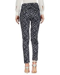 Cappellini By Peserico Black Casual Trouser
