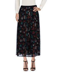 Liu Jo Black Long Skirt