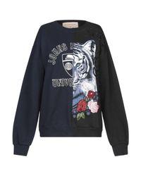 Night Market Black Sweatshirt