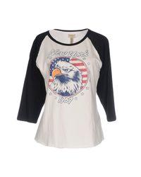 Denim & Supply Ralph Lauren - White T-shirt - Lyst