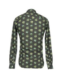 Hydrogen - Green Shirt for Men - Lyst