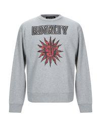 Fausto Puglisi Gray Sweatshirt for men