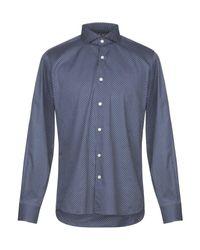 Camicia di Domenico Tagliente in Blue da Uomo