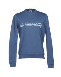 NN07 Blue Sweatshirt for men