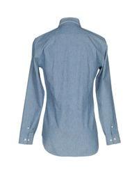 Camicia jeans di Marc Jacobs in Blue da Uomo