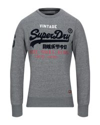 Sweat-shirt Superdry pour homme en coloris Gray